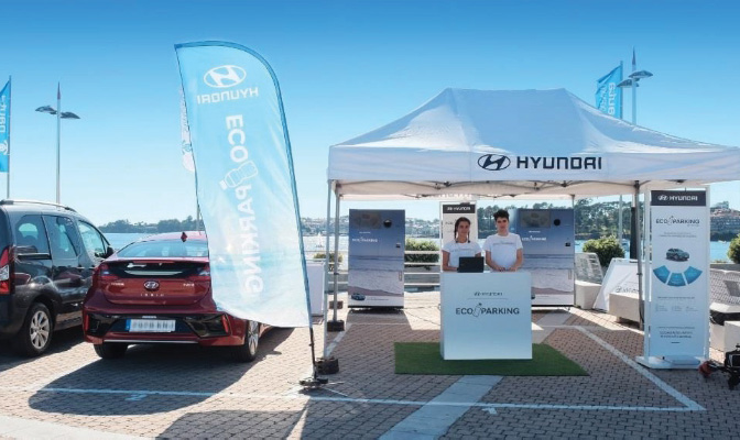 hyundai eco parking