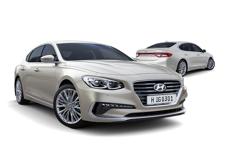 Azera Highlights Sedan Hyundai Worldwide