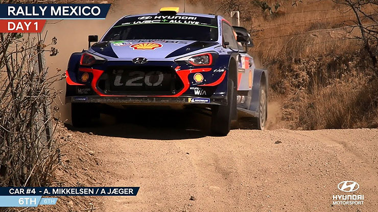 Rally Mexico Day One