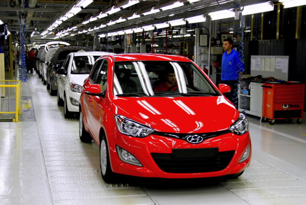 Hyundai Motor Manufacturing Plant in Turkey Prepares to