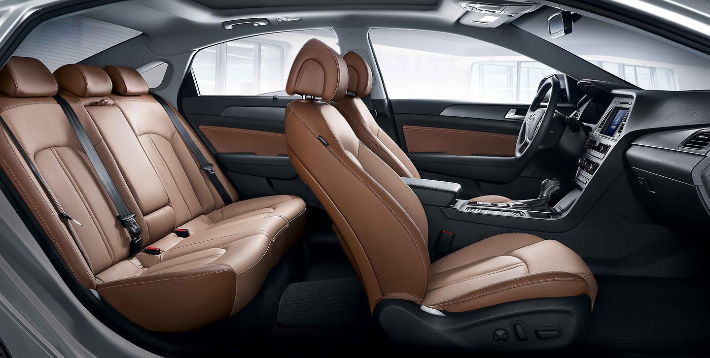 All New Sonata brown interior