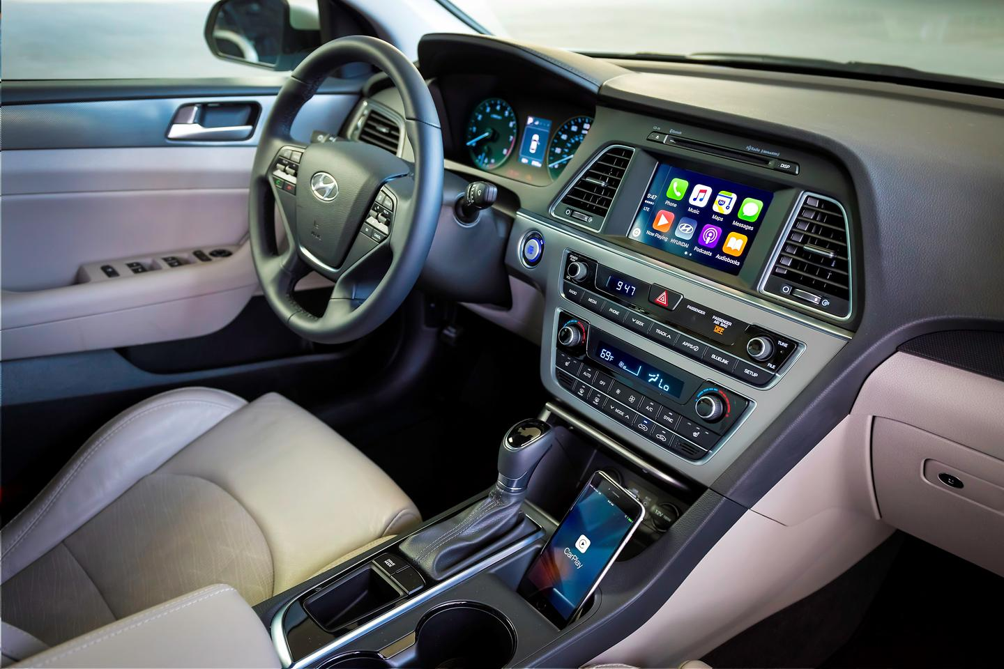 Connectivity features include apple carplay and android auto - Apple Carplay And Android Auto Integration Available On Affordable Sedan